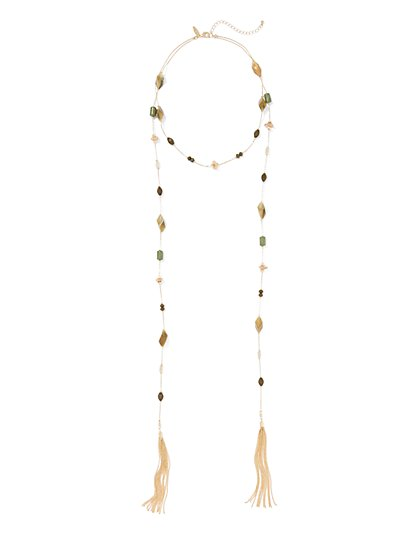 Illusion Wrap Necklace  - New York & Company