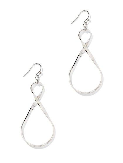 Infinity Drop Earring - New York & Company