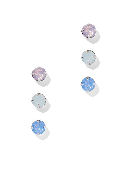 Iridescent Post Earring Set  - New York & Company