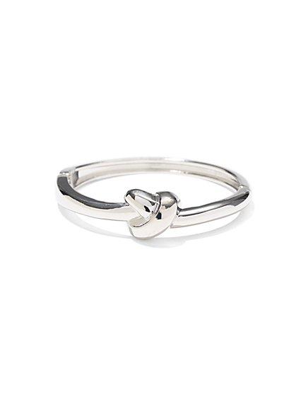 Knot Hinge Bracelet  - New York & Company