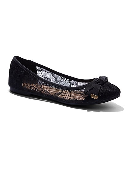 Lace Ballet Flat  - New York & Company