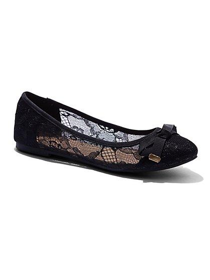 Lace Ballet Flat  - New York & Company