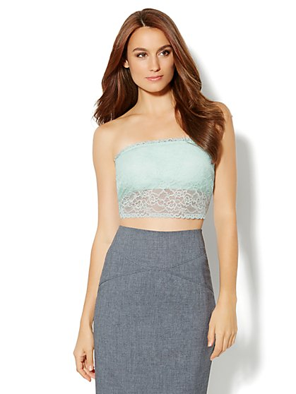 Lace Bandeau Shaper - New York & Company