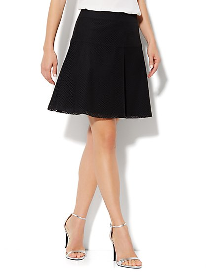 Lace Flare Skirt - New York & Company
