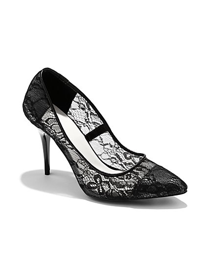 Lace Pump - New York & Company