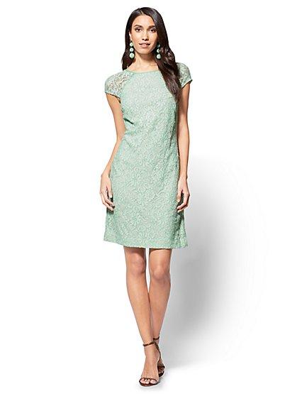 Lace Shift Dress - New York & Company