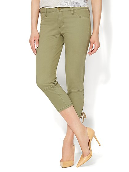 Lace-Up Ankle-Length Pant  - New York & Company