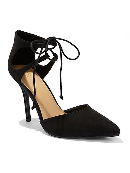 Lace-Up Pump  - New York & Company