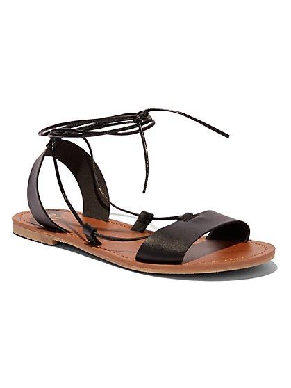 Lace-Up Sandal  - New York & Company