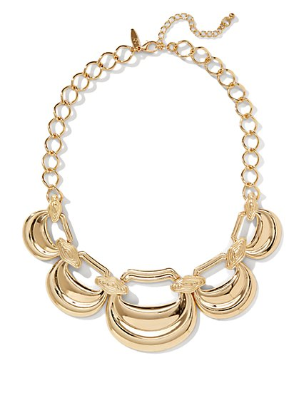 Large Chain-Link Necklace  - New York & Company