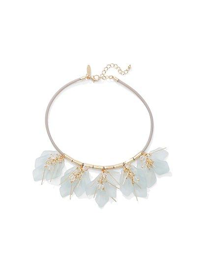 Leaf Choker Necklace  - New York & Company