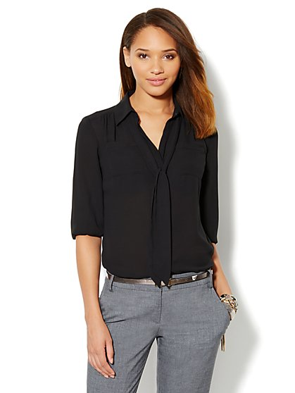 Lexington Soft Shirt - New York & Company