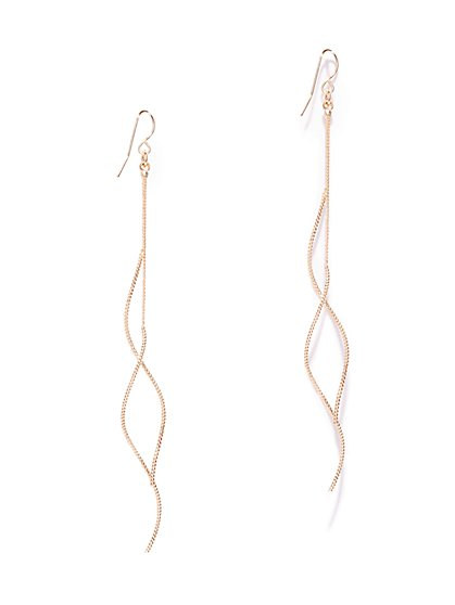 Linear Coil Drop Earring  - New York & Company