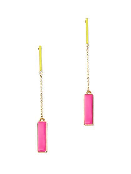 Linear Drop Earring  - New York & Company