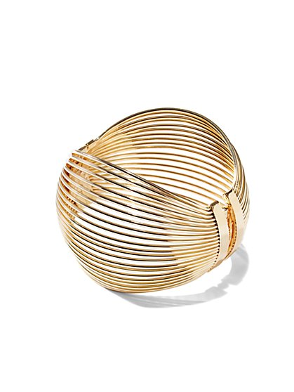 Linear Hinge Bracelet  - New York & Company
