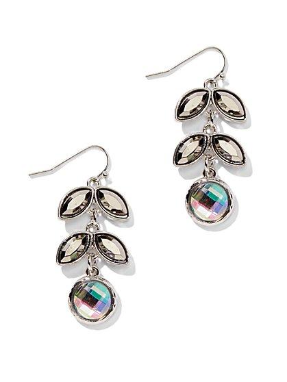 Linear Leaf Drop Earring  - New York & Company