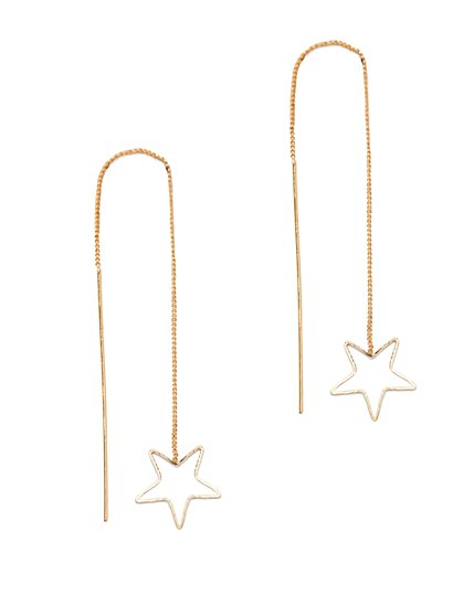 Linear Star Earring  - New York & Company