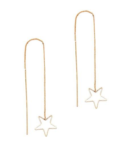 Linear Star Earring  - New York & Company