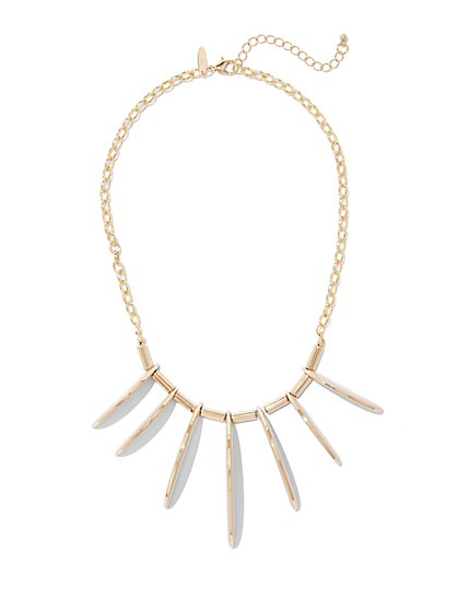 Linear Statement Necklace  - New York & Company