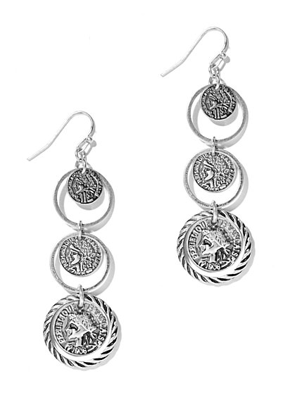 Linear Triple Drop Earring  - New York & Company