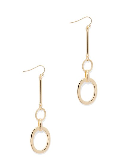 Link Drop Earring  - New York & Company