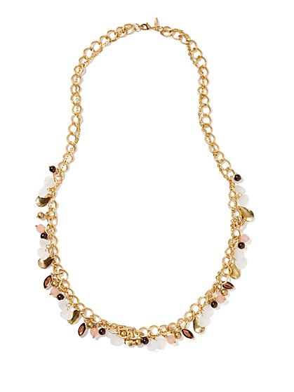 Long Jangle Necklace  - New York & Company