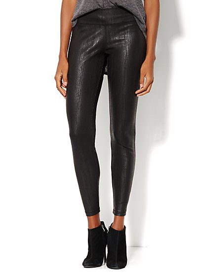 Lounge - Coated Legging - New York & Company