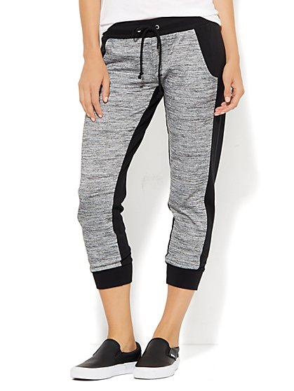 Lounge - Colorblock Jogger Pant - New York & Company