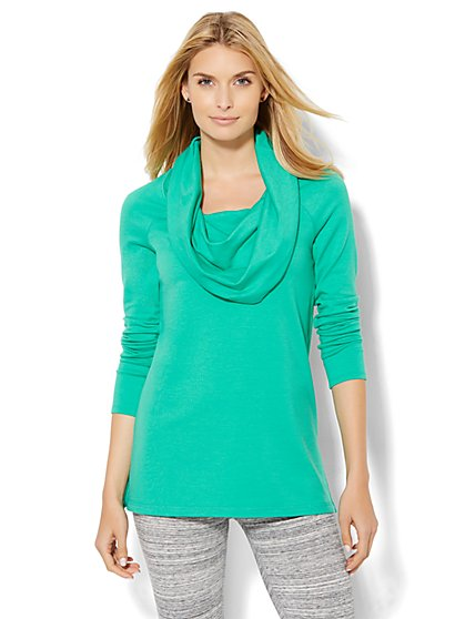 Lounge - Cowl-Neck Tunic   - New York & Company