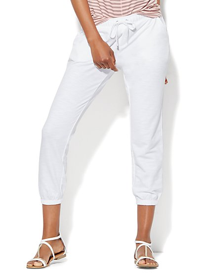 Lounge - Cropped Jogger  - New York & Company
