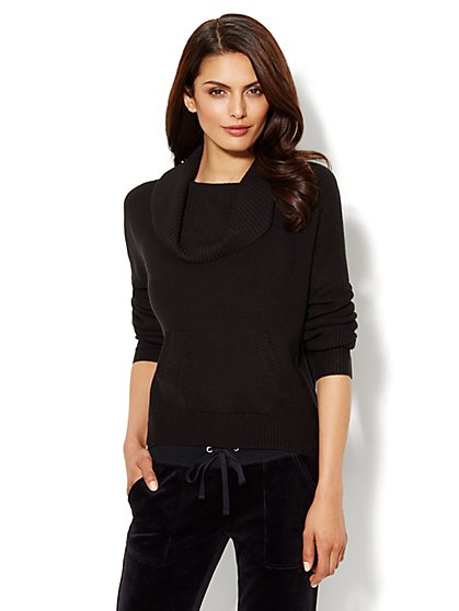 Lounge - Funnel-Neck Sweater - New York & Company