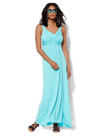 Lounge - Goddess Crossover Dress - New York & Company