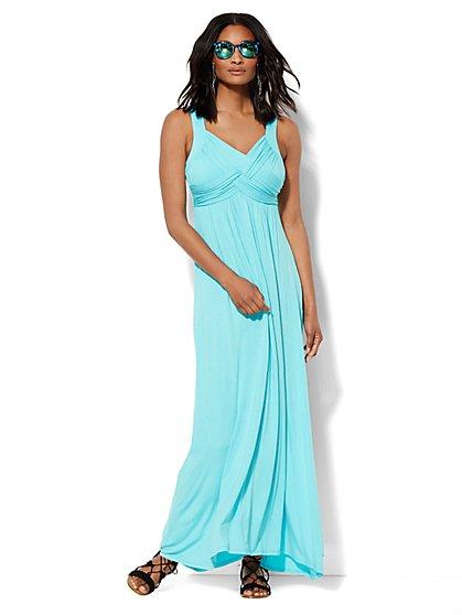 Lounge - Goddess Crossover Dress - New York & Company