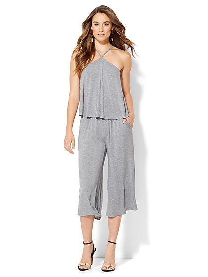 Lounge - Halter Culotte Jumpsuit  - New York & Company