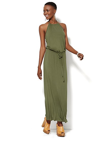 Lounge - Halter Maxi Dress - New York & Company