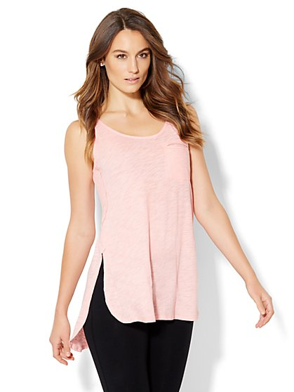 Lounge - Hi-Lo Tank Top  - New York & Company