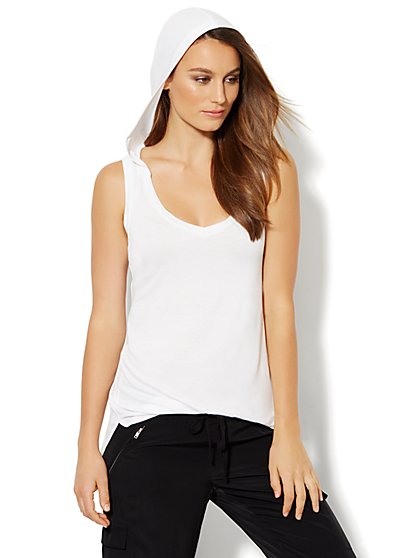 Lounge - Hooded Tank - New York & Company