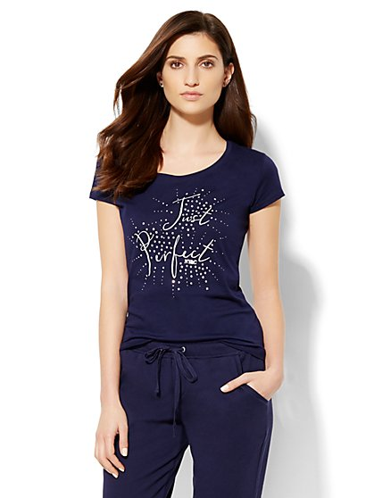 Lounge - Just Perfect Tee - New York & Company