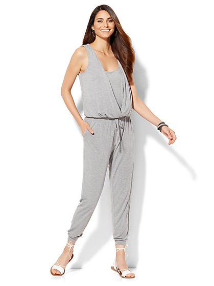 Lounge - Knit Jumpsuit  - New York & Company