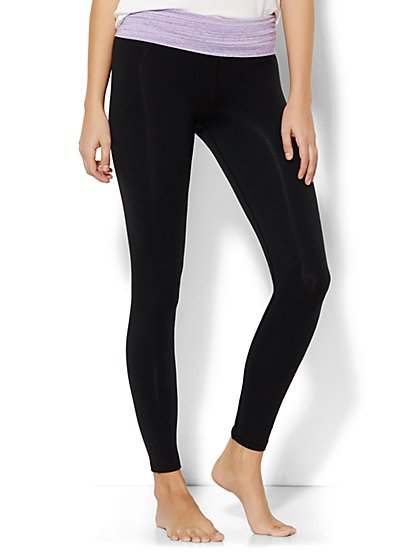 Lounge Legging - Contrast Waistband  - New York & Company