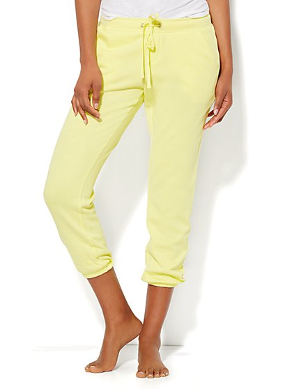 Lounge - Montauk Beach Pant  - Crop - New York & Company