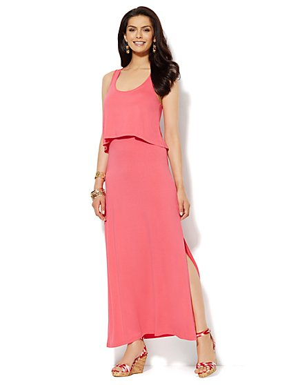 Lounge - Overlay Maxi Dress  - New York & Company