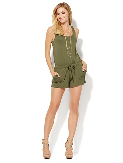 Lounge - Sleeveless Romper  - New York & Company