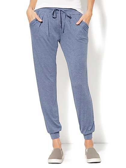 Lounge - Slim Leg Pant - Solid  - New York & Company