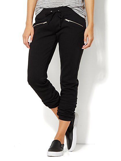 Lounge - Slim Slouch Pant  - New York & Company