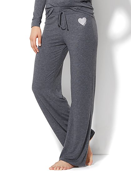 Lounge - Straight-Leg Pant  - New York & Company