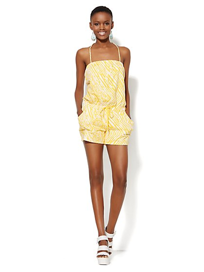 Lounge - Strapless Romper  - New York & Company