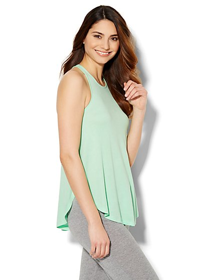 Lounge - Trapeze Tank Top  - New York & Company