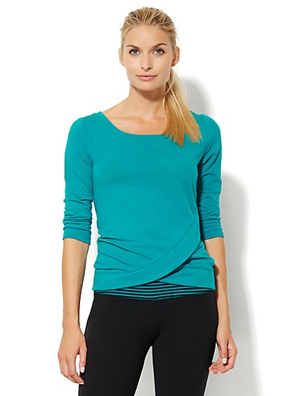Lounge - Tulip-Hem Top  - New York & Company