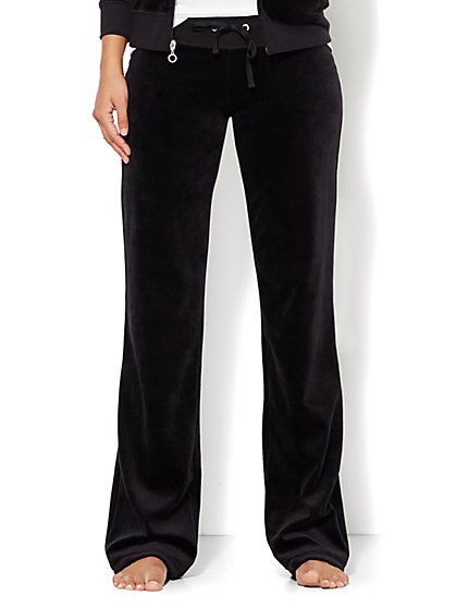 Lounge - Velour Pant - Tall  - New York & Company